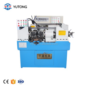 Threaded nail making machine Cold heading machine Automatic thread rolling machine
