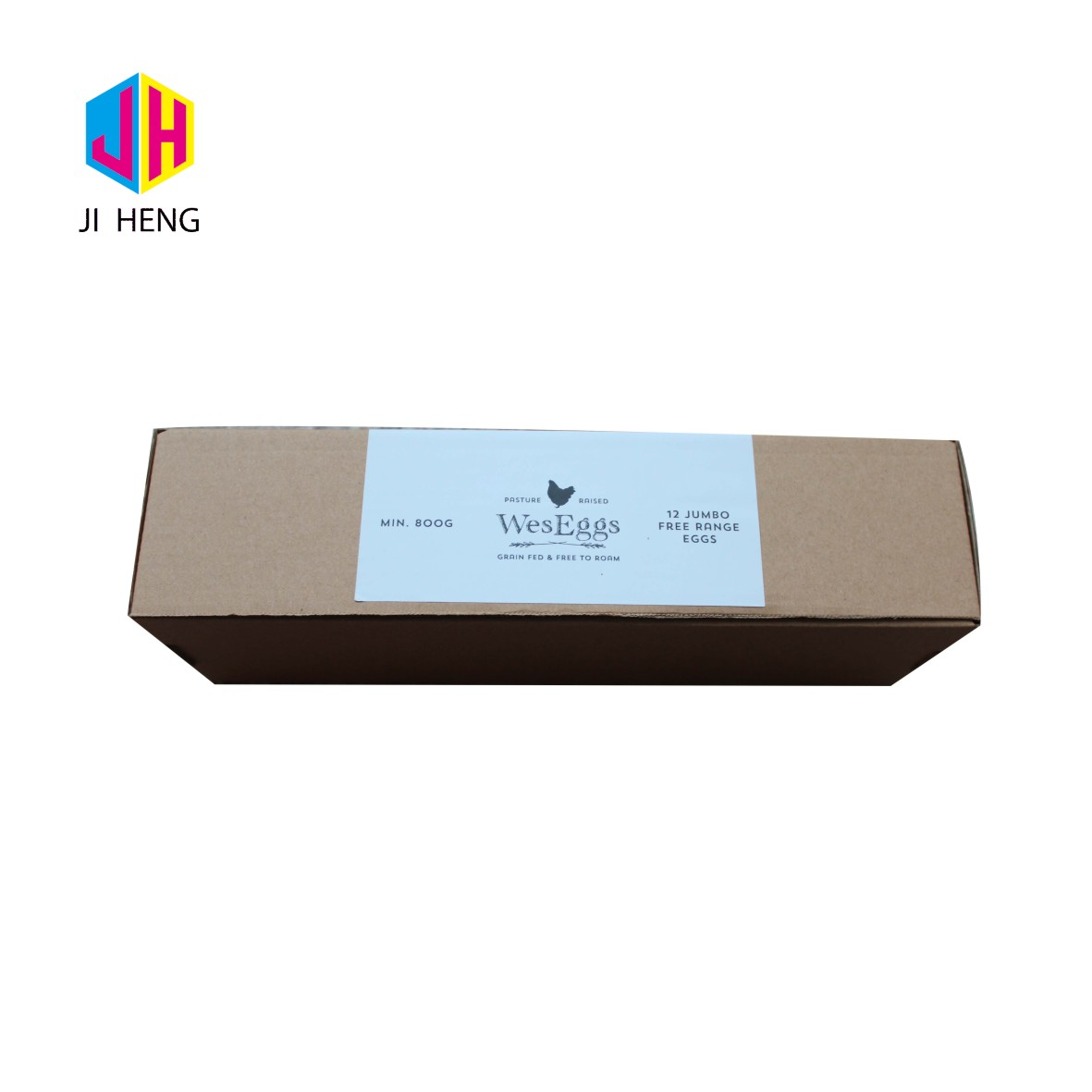 Custom made stronger cardboard transport packaging boxes for chicken eggs