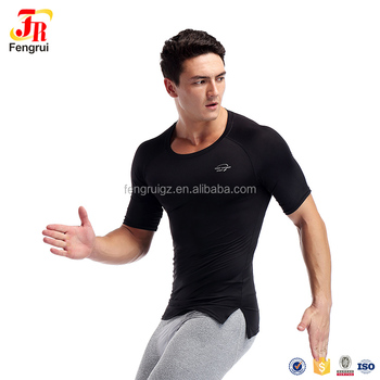 80a2c47788 Top Quality Compression Gym Tight Fitness T Shirts Men Crossfit  Bodybuilding Muscle Male Short Sleeve Slim