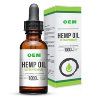 Private Label organic extract hemp seed oil pure CBD full spectrum hemp seed essential oil for sale