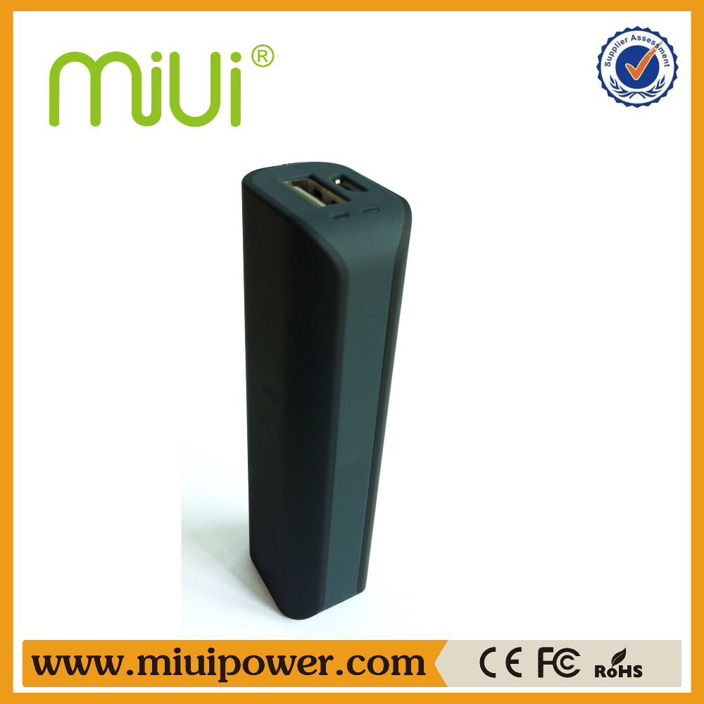 Shenzhen factory supply portable Cellphone 2200mah battery 18650 power bank for Xiaomi