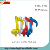 wholesale music note shape inflatable foil balloon material