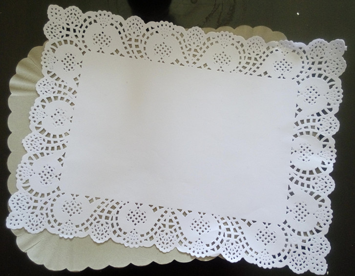 Manufacturer best selling paper doilies round/square paper doily placemats with all inches