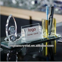 High quality office decoration crystal craft