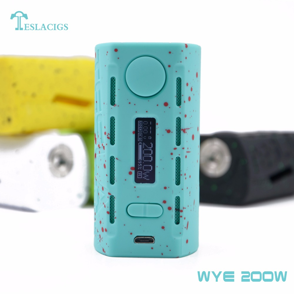Summer vacation style WYE 200W vape mod from teslacigs factory