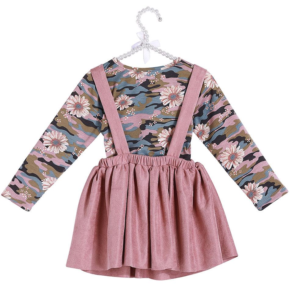0c21cd76b062 2019 de alta calidad Boutique ropa de bebé niñas Vintage flor dulce falda  ropa ...