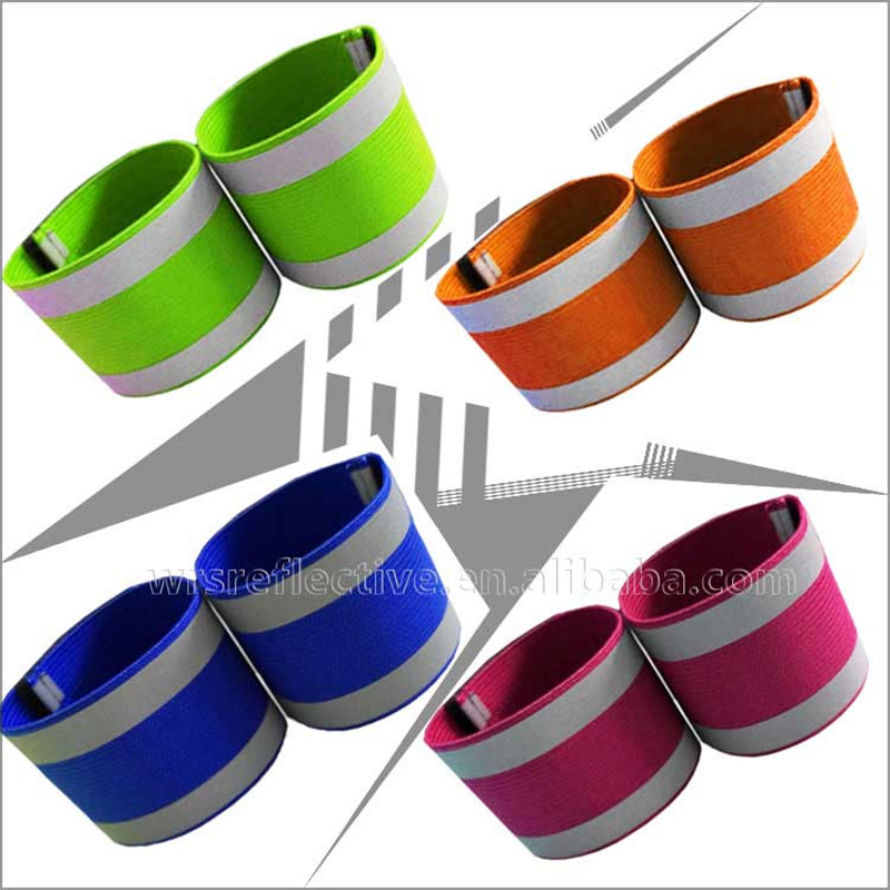 Elastic Safety Reflector Arm Band For Running Excercising