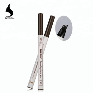 Music Flower Fine Sketch Eyebrow Hair Dye Gel Liquid Pencil Microblading EyebrowTattoo Waterproof Eyebrow Tint Pen