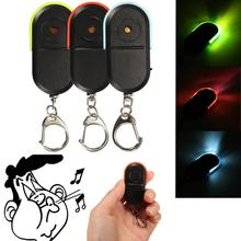Neue Design Wireless 10 m Anti-Lost Alarm Key Finder Locator Keychain Whistle Sound Mit LED Licht Mini Anti verloren Schlüsselbund