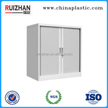 Interior roller shutter door for filing cabinet