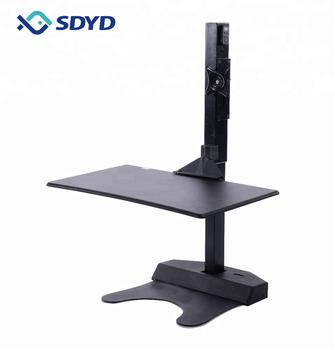 Electric Height Adjustable Sit Standing Desk Converter Desktop - Buy  Standing Desk Converter,Standing Desk,Desktop Product on Alibaba com