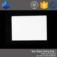 Low Price High Quality Fiber Glass Ceiling Board Tiles