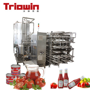 Industrial automatic vegetable juice concentrate blanching machines canning processing line
