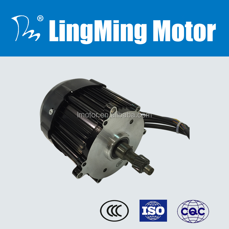 60v brushless differential tricycle motor dc gear motor