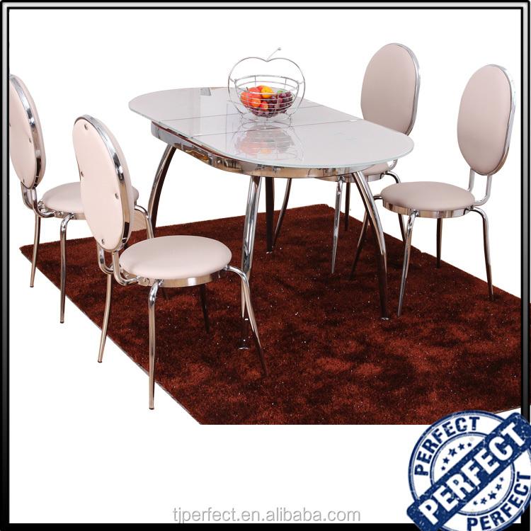 Venta al por mayor mesas de comedor ovaladas extensibles-Compre ...