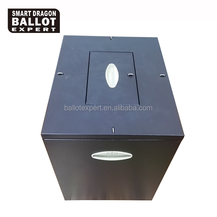 metal ballot boxes for elections metal donation boxes with locks
