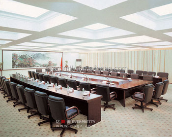Standard Size Long Conference TableMeeting Room TableModular - Standard conference table size