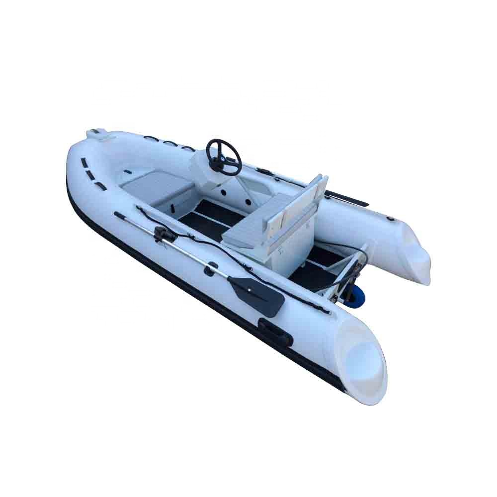 hot welded pvc 3.6m rigid inflatable boat aluminum hull rib boat with CE certificate, As your request