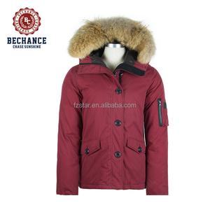 c2f6387ba3c Red Jacket Fur Hood Down Jacket, Red Jacket Fur Hood Down Jacket Suppliers  and Manufacturers at Alibaba.com