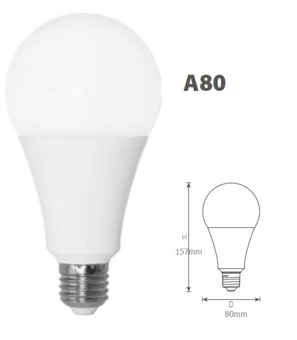 2016 Hot Sale 13w A70 A80 Cfl Light Bulb With Price,Heat Resistant ...