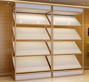 Glass Cabinet With Led Lightings, Aluninum Display Showcase For Display  Automobile Accessories