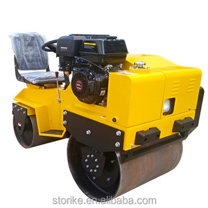 Small double drum bomag compactor road pedestrian vibratory roller