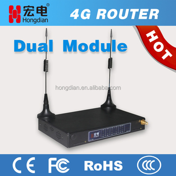 Outdoor wifi hotspot dual SIM 4G router