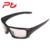Ptsports Grey Polarized Lens Army Green frame Cycling sunglasses Running Faishing Usage Googles Simple Bicycle sunglasses