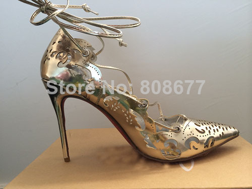 big sale ddb9e 6d4d2 black and white red bottom heels
