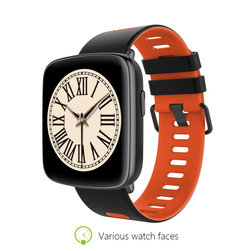 Kingwear GV68 Smart Watch Waterproof IP68 Heart Rate Monitor MTK2502 Smartwatch for IOS Android