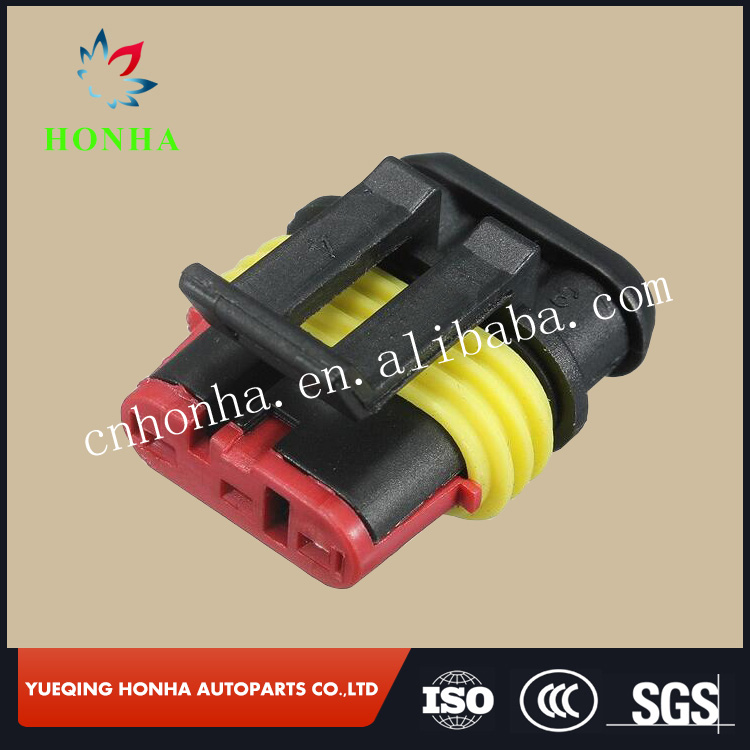 New Car Part 3 Pin Way Sealed Waterproof Electrical Wire Auto Connector Plug Set VEA25 P