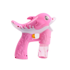 Bubble Gun Shooter Light Up Blower Machine Bubble Blaster for Kids, Parties with LED Flashing Lights, Extra Refill Bottle