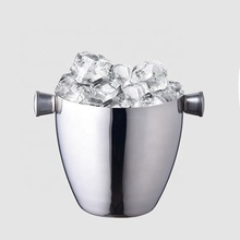 OEM Manufacturer 1.5L Single 벽 Metal Stainless Steel Ice Bucket 와 통