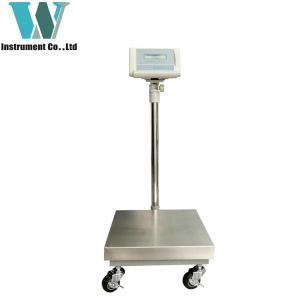 1g AC/DC commercial 100kg bench digital weighing scale