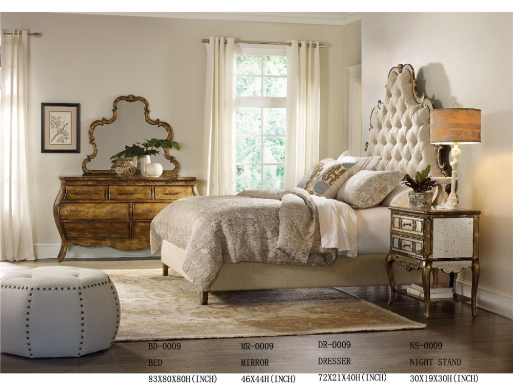 Antique Solid Rosewood Bedroom Furniture Set, Antique Solid ...