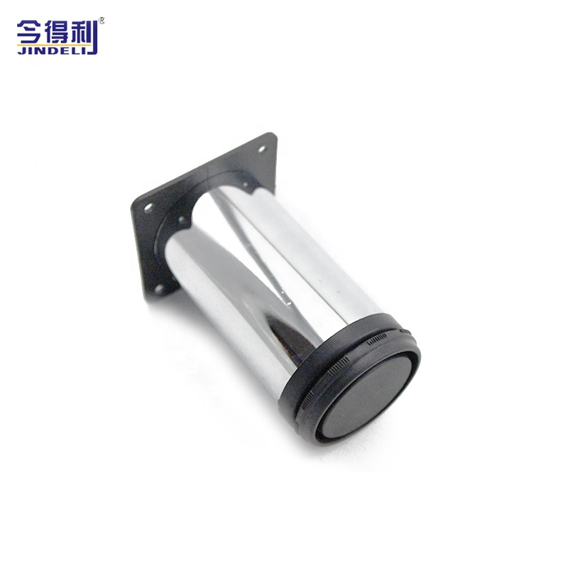 China manufactory sofa legs chrome sofa feet furniture fitting series