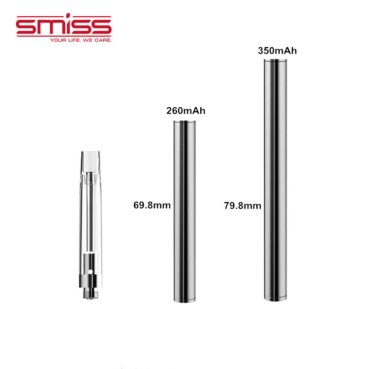 2019 Unique Design Smiss CRW Ceramic Coil Variable Voltage Mini Vape Pen Accessories