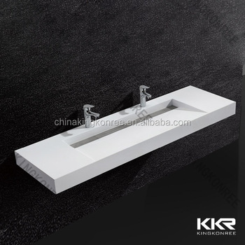Solid Surface Top Mount Vanity Sinks/corner Vanity Sink/corner Vanity  Bathroom Sink/