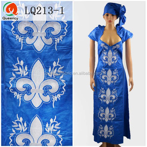 6b16509eb3523 LQ213 Queency Wholesale Fashion Design Stones Embroidered Bazin Riche African  Traditional Dresses