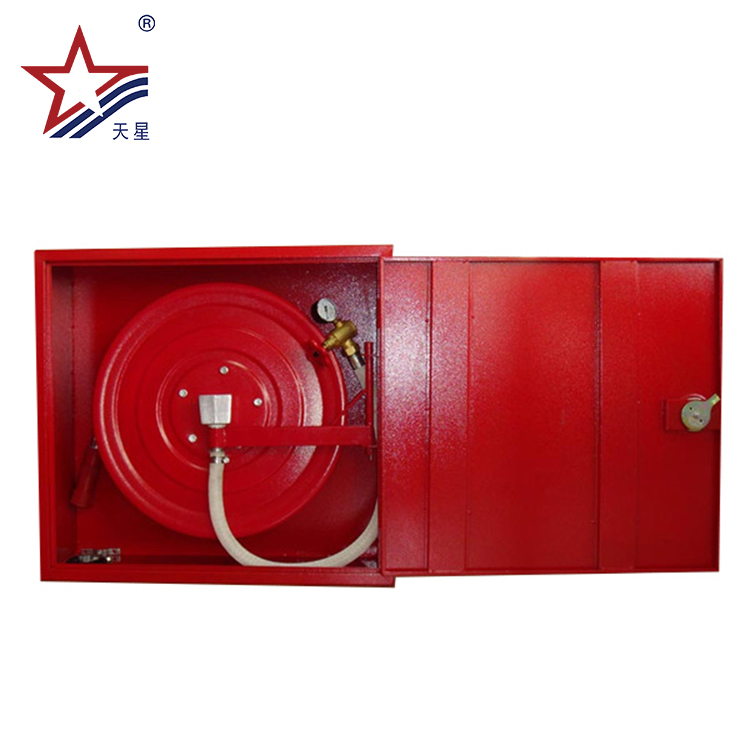 Fire Fighting Equipment Muti-Used Stainess Steel Fire Hose Reel Box Specification For Fire Protection