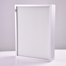 remove dust H13 H14 Glassfiber Mini Pleated hepa filter material