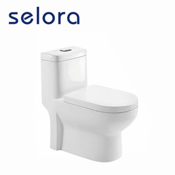 SELORA dual flush bathroom wc washdown big outlet toilet