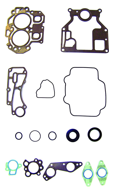 YAMAHA 2001-2004 4-Stroke 15 HP 2 Cyl. Complete Power Head Gasket Kit WSM 500-315 OEM# 66M-W0001-01