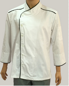 Men chef uniforms with high quality with long sleeves