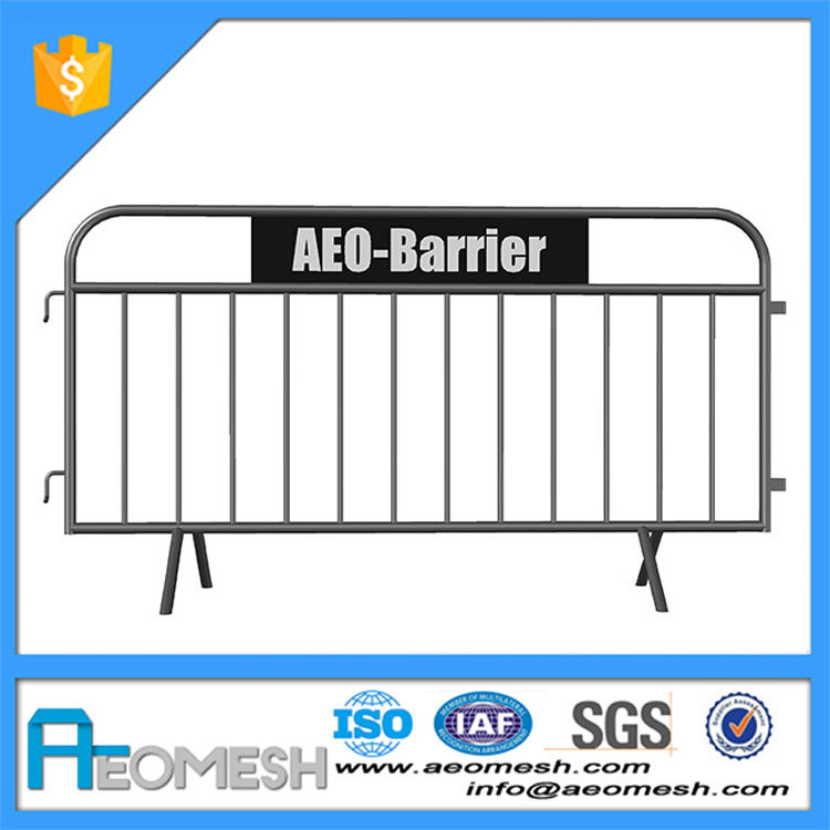 Manufacturer of low price roadway safety/road safety iron barricade/queue stand