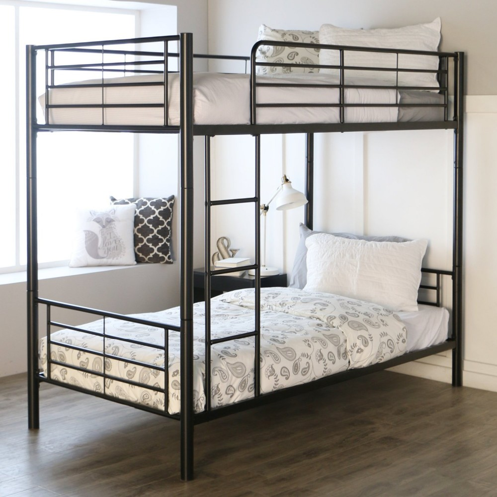 modern king queen dormitory home hostels hotel twolevel twin  - modern king queen dormitory home hostels hotel twolevel twin metal steelpipe bunk beds