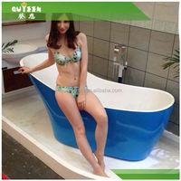 Freestanding porcelain bathtub ,bathtub enamel cast iron