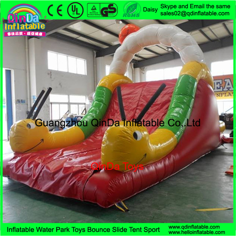 Children Outdoor Playground large inflatable pool slides for inground pools