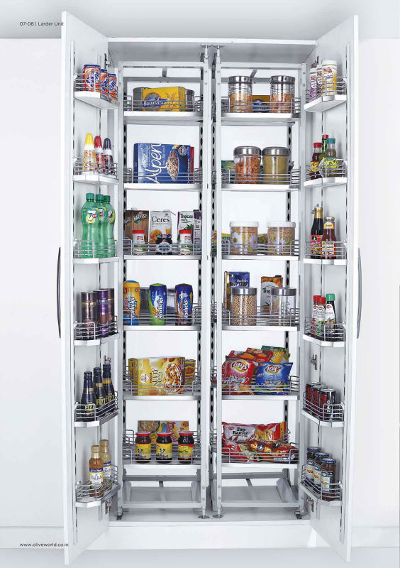 Double Pantry Unit - Kitchen Vertical Storage Unit - Buy Kitchen Pantry  Unit,Kitchen Double Pantry Unit,Kitchen Pantry Storage Unit Product on ...