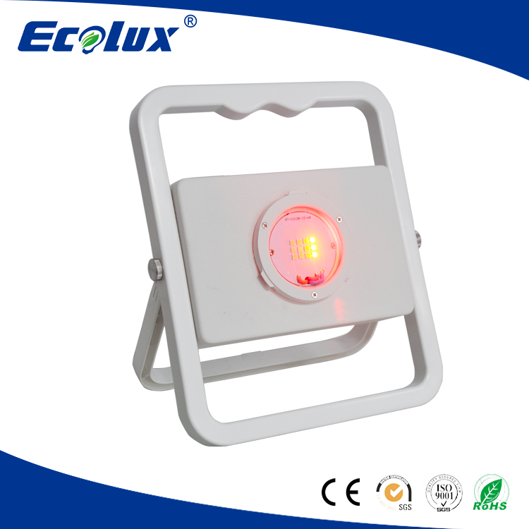 best quality new outdoor USB rechargeable Led Portable and SOS flood light 10w CE/ROHS White